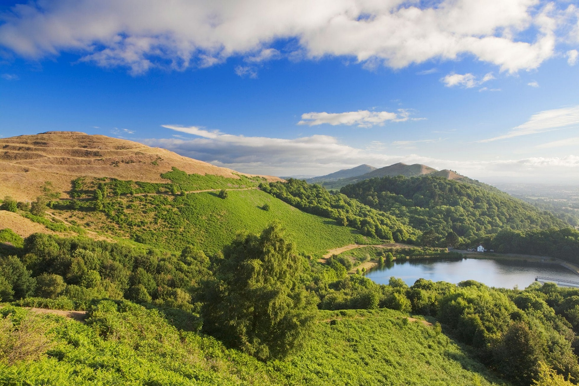 The Malvern Hills as an Area of Outstanding Natual Beauty (AONB)
